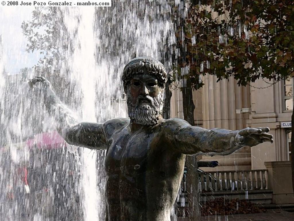 Montpellier Fuente de los Efebos Languedoc Roussillon