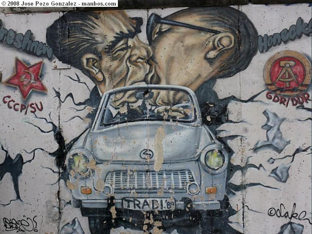 Berlin Souvenirs del Muro Berlin