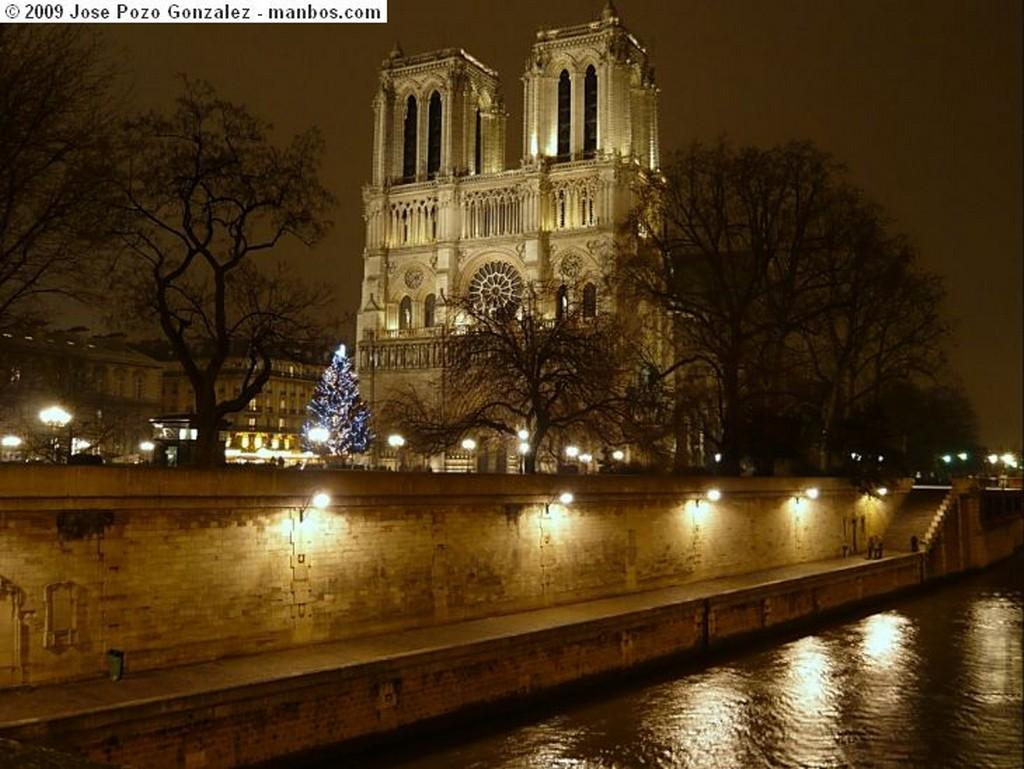 Paris Musa sobre el puente Paris