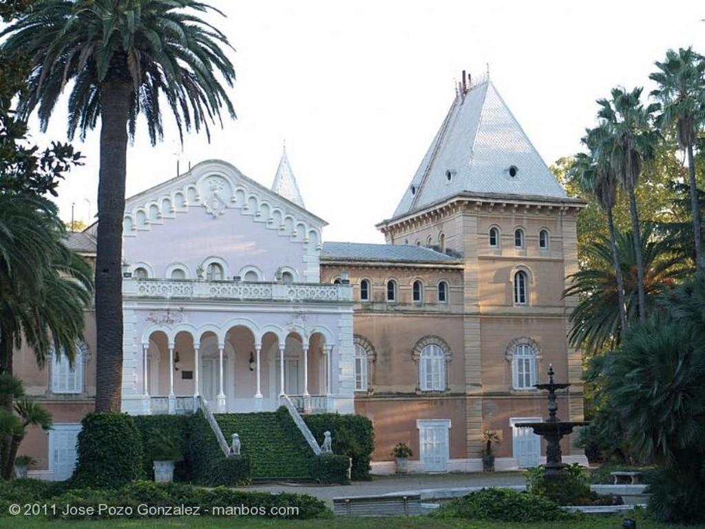 Parque Sama Fuente con Reflejo Tarragona