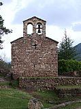 Iglesia de Sant Vicenc de Rus, Pobla de Lillet, España