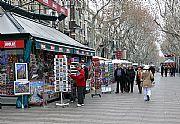 Ramblas, Barcelona, España