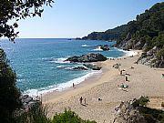 Cala Boadella, Lloret de Mar, España