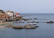 Platja de Calella , Calella de Palafrugell, España