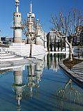 Parque de la Espana Industrial, Barcelona, España