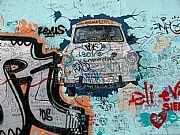East Side Gallery, Berlin, Alemania