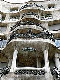 Casa Mila, Barcelona, España