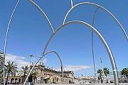 Plaza Europa, Barcelona, España