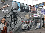 East Side Gallery Muhlen Strasse, Berlin, Alemania
