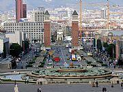Plaza de España, Barcelona, España