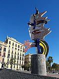 Paseo de Colon, Barcelona, España