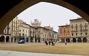 Plaza Mayor, Vic, España