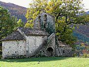 Iglesia de Sant Valentí de Salarça, Beget, España