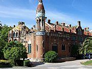 Hospital de Sant Pau, Barcelona, España