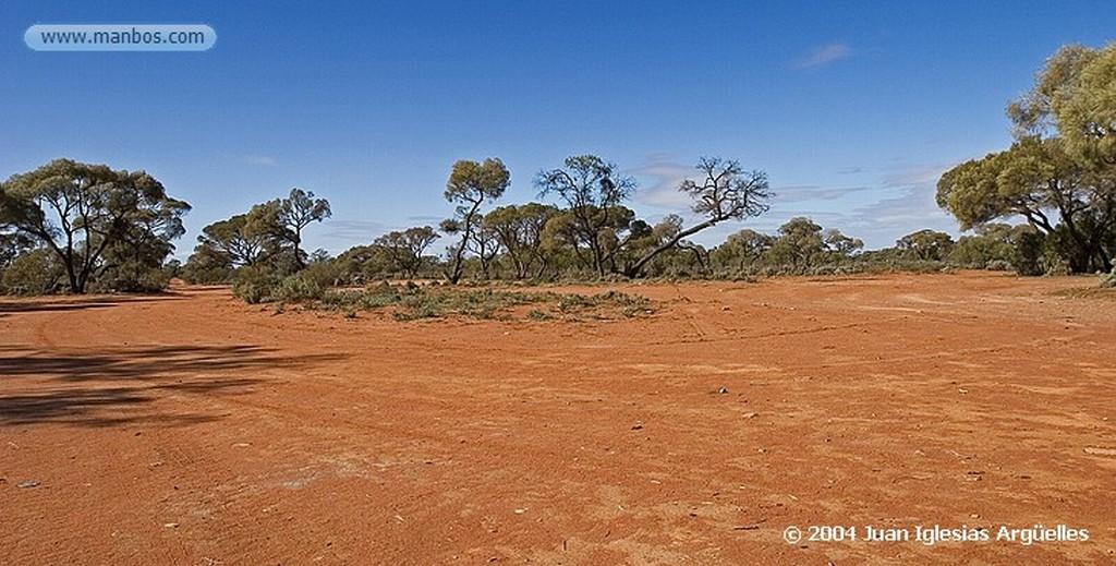 Coober Pedy Residuos de las minas Australia Meridional