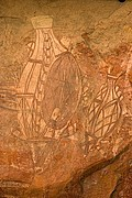 Camara Canon EOS 10D Pinturas aborigenes Australia PARQUE NACIONAL DE KAKADU Foto: 14574