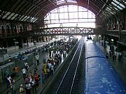 Camara Sony CyberShot DSC-S500 Estación de tren