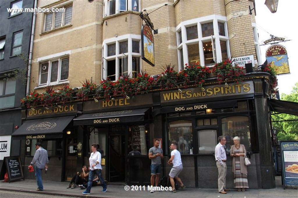 Londres Pub The Dog and Duck Londres Londres