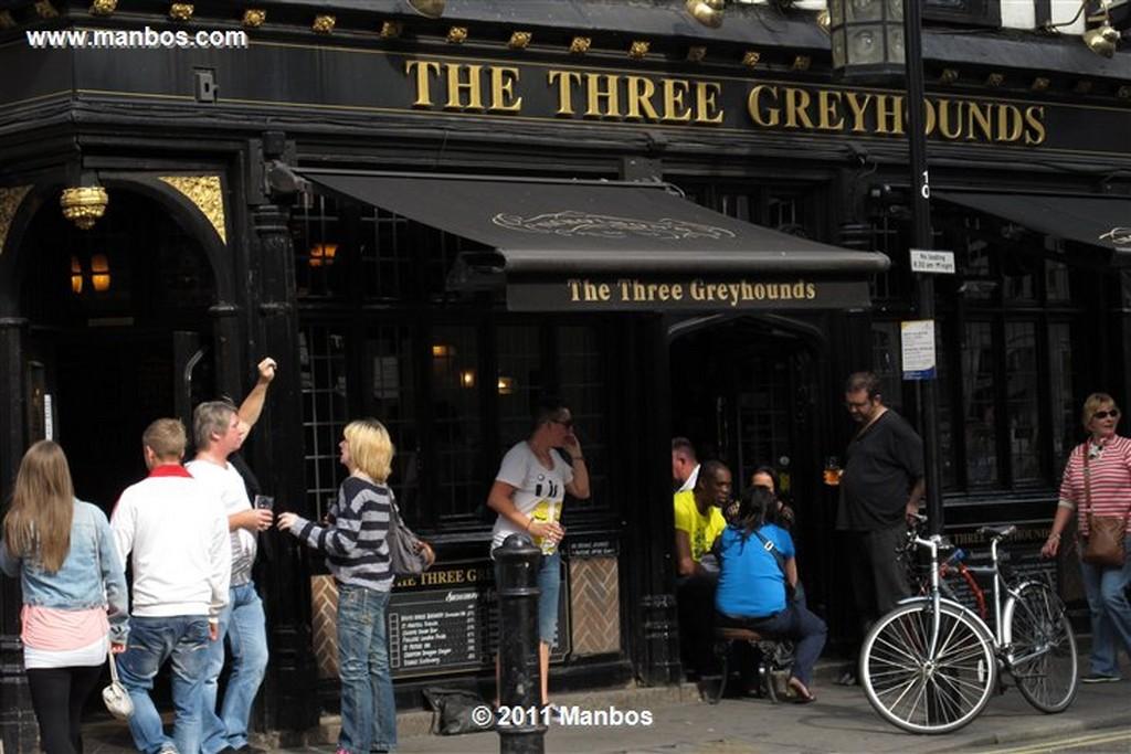 Londres Cafe Boheme Londres Londres