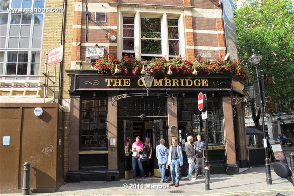 Londres Pub The Coach & Horses Londres Londres