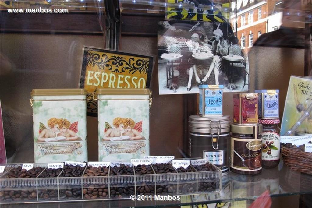 Londres The Algerian Coffee Stores Londres