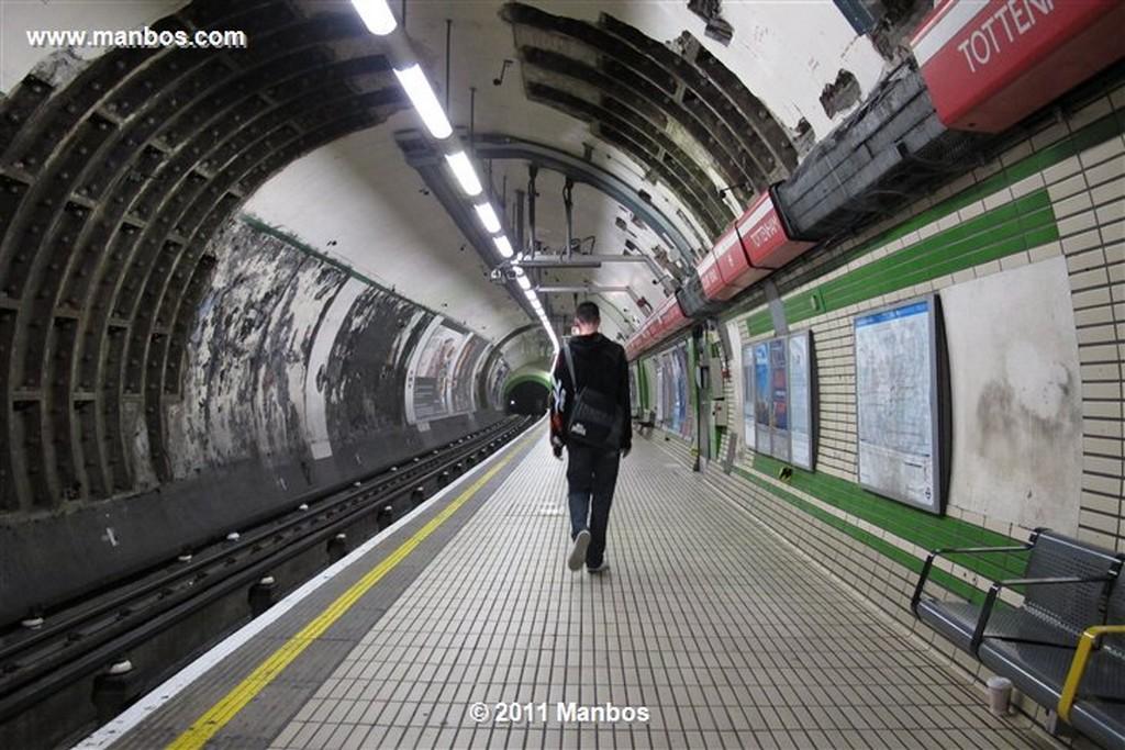 Londres Totenham Station Londres