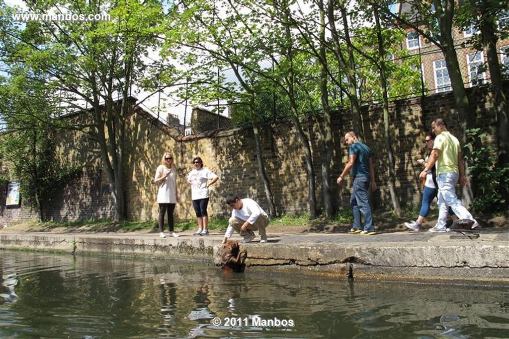 Londres Regen Canal Londres Londres
