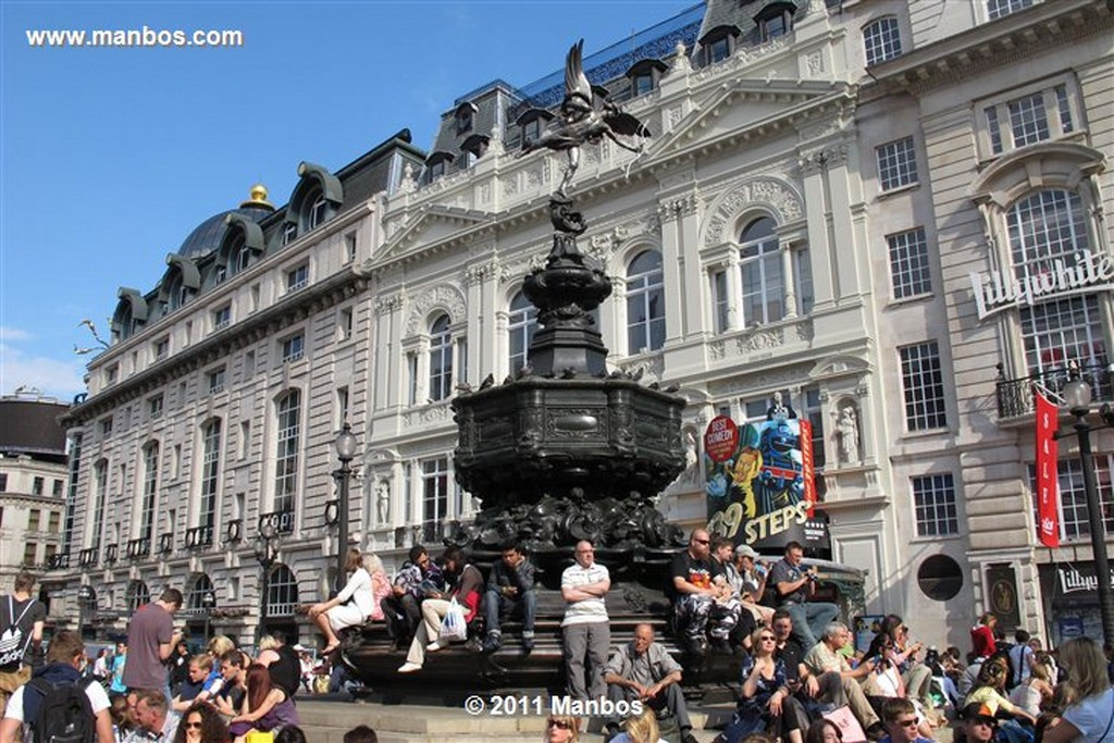 Londres Picadilly Circus Londres Londres