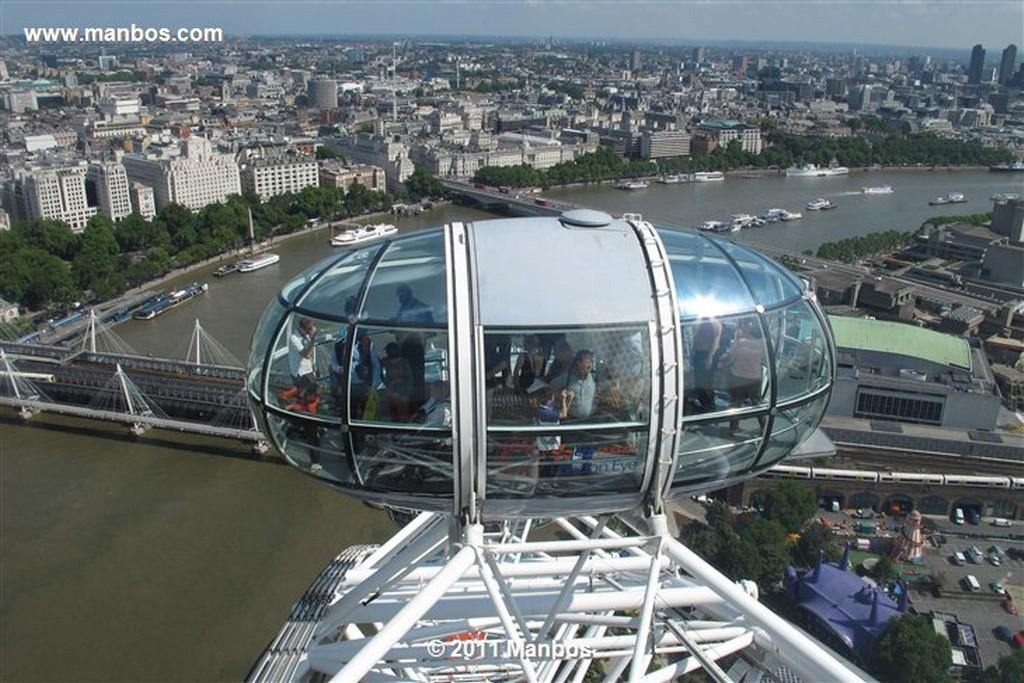 Londres Vistas desde el London Eye Londres Londres