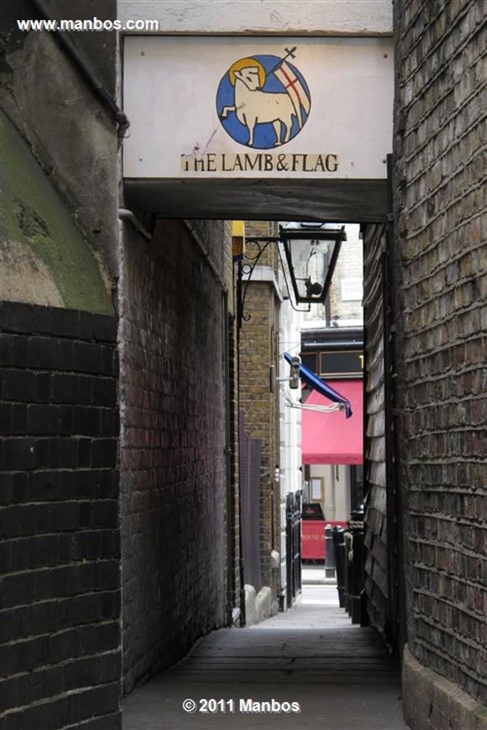 Londres Pub Lamb & Flag Londres Londres