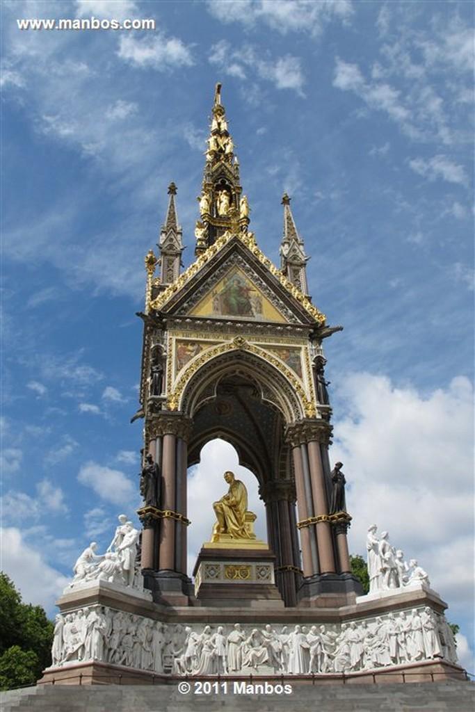 Londres Albert Memoriam Londres