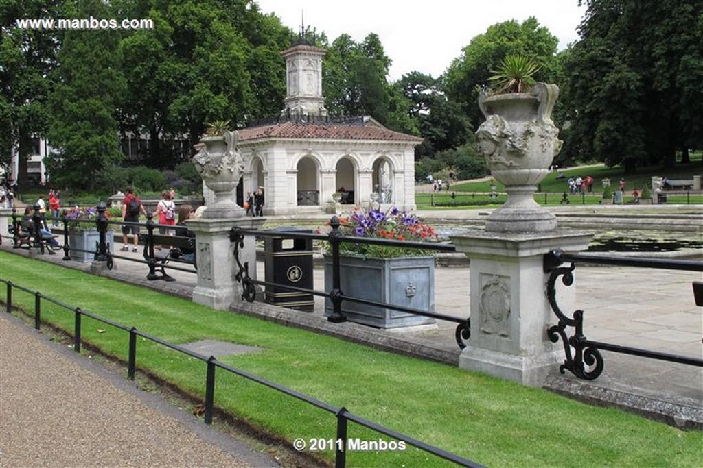 Londres Kensington Gardens Londres Londres