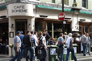 Photo of London, Soho, United Kingdom - Cafe Boheme Londres