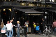 Photo of London, Soho, United Kingdom - Pub The Three Greyhounds Londres