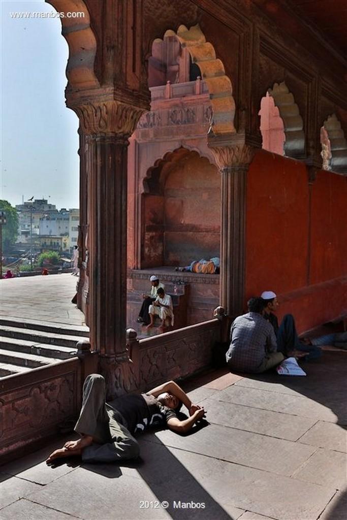 Nueva Delhi Jama Masjid, Mezquita del viernes Nueva Delhi