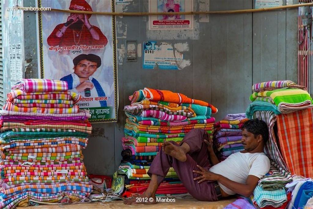Jaipur Mercado de Jaipur Rajastan