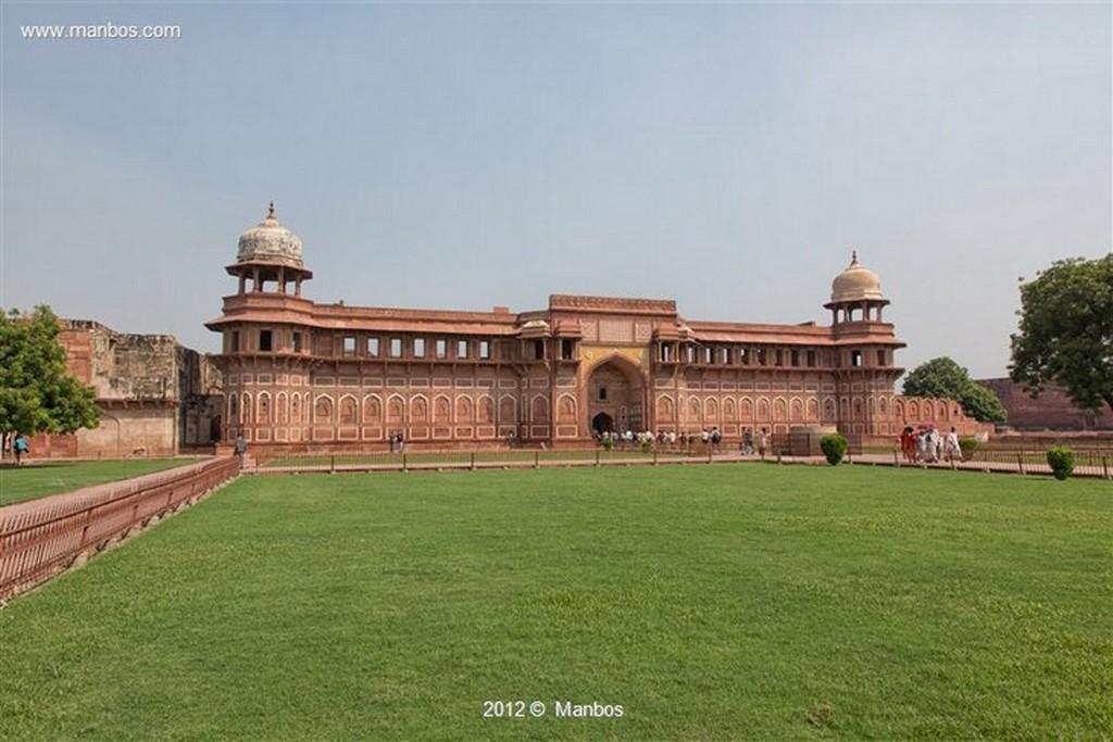 Agra Fuerte Rojo Uttar Pradesh