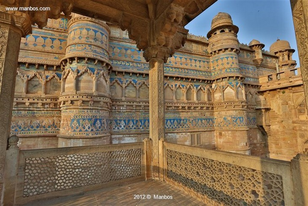Gwalior Palacio Manmandir Madya Pradesh