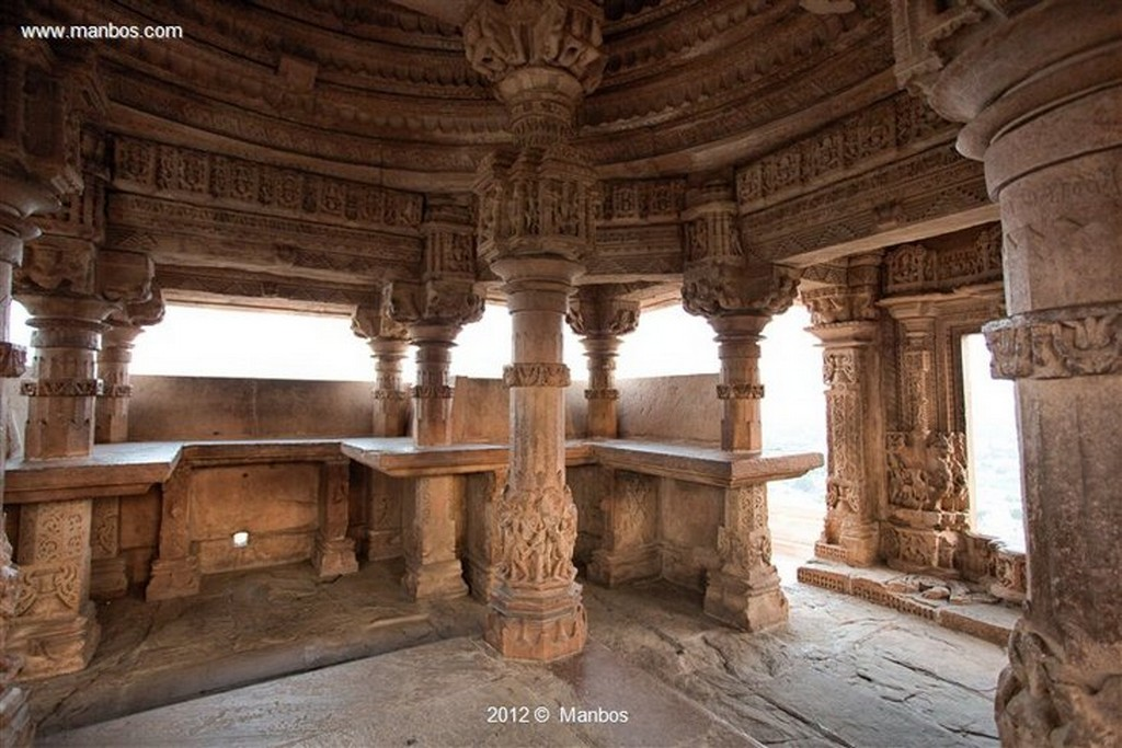 Gwalior Templo Sas-Bahu Madya Pradesh