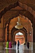 Mezquita del viernes, Nueva Delhi, India