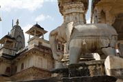 Templo Mandir Shri Jagat Shiromaniji, Amber, India