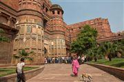 Fuerte Rojo, Agra, India