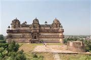 Palacio Jahangir, Orchha, India