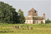 Cenotafios, Orchha, India