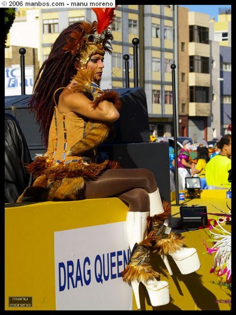 Gran Canaria Cabalgata del Carnaval 2006 Canarias