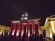 Camera FinePix S3300 Brandenburgo Tor Emilio Gomez Gallery BERLIN Photo: 27593