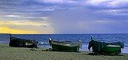 Playa de Badalona, Badalona, España