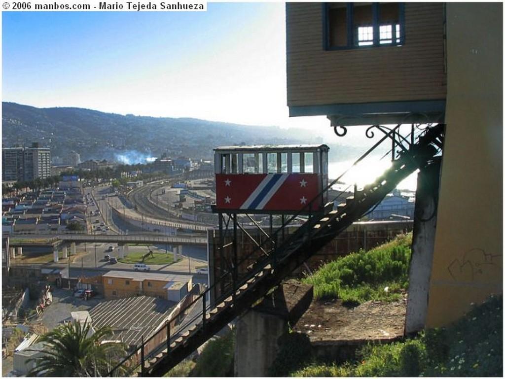 Valparaíso Pérgola de la Flores, Plaza Anibal Pinto V Región