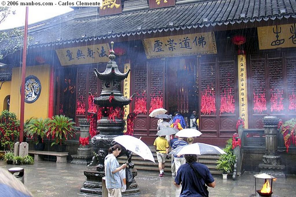 Shanghai Templo de Buda de Jade-Yufo Si Shanghai