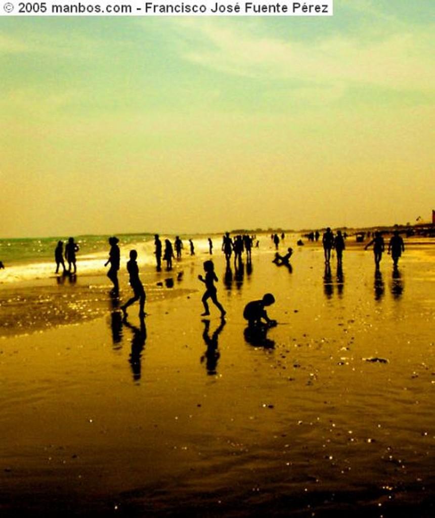 Islantilla Islantilla . Contraluz en la playa Huelva
